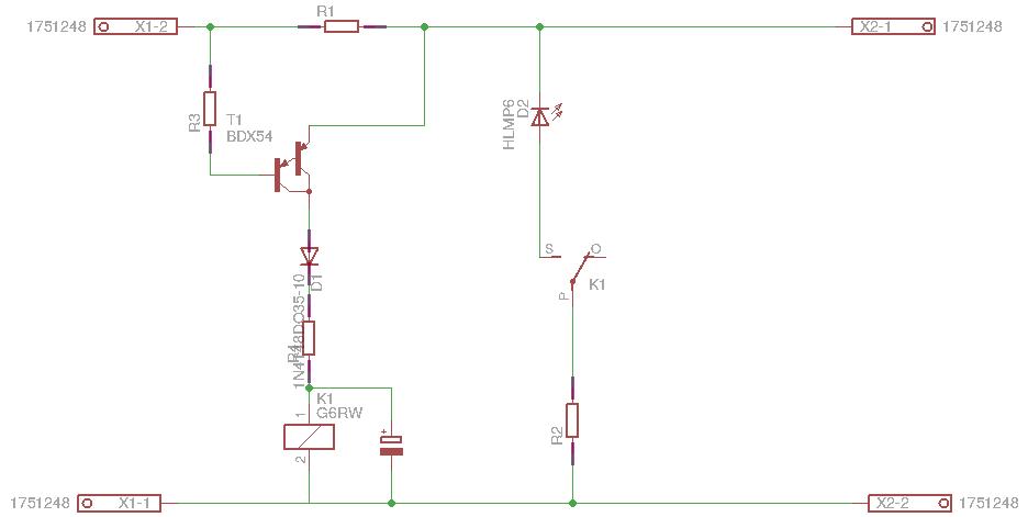 Einfache Kurzschluß-Erkennung mit Abschaltung - Stummis Modellbahnforum